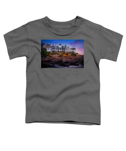 Cape Neddick Maine Scenic Vista Toddler T-Shirt