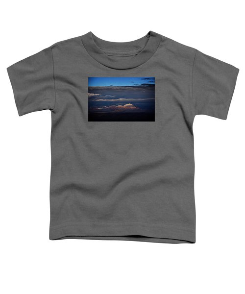 Capitol Butte In Sedona With Snow Toddler T-Shirt