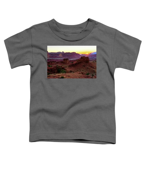 Capitol Reef Sunrise Toddler T-Shirt