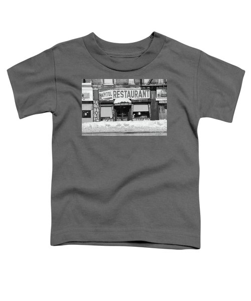Capitol Winter Toddler T-Shirt by Cole Thompson