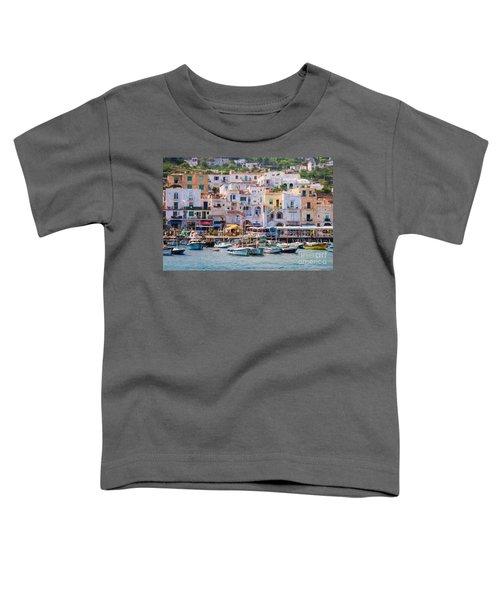 Capri Boat Harbor Toddler T-Shirt