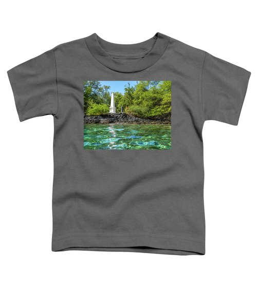 Captain Cook Monument Toddler T-Shirt