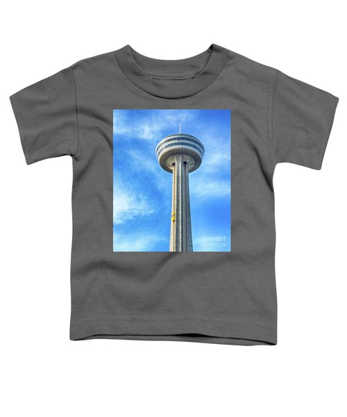 Car On Skylon Tower Toddler T-Shirt