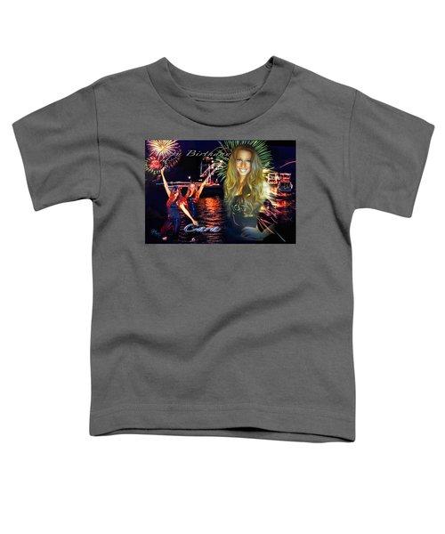 Cara Earth Angels Birthday Toddler T-Shirt