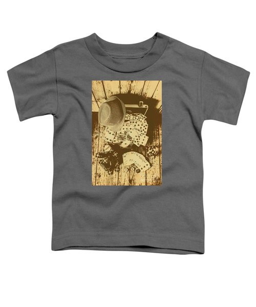 Card Games And Vintage Bets Toddler T-Shirt