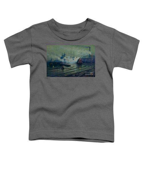 Cardiff Docks Toddler T-Shirt