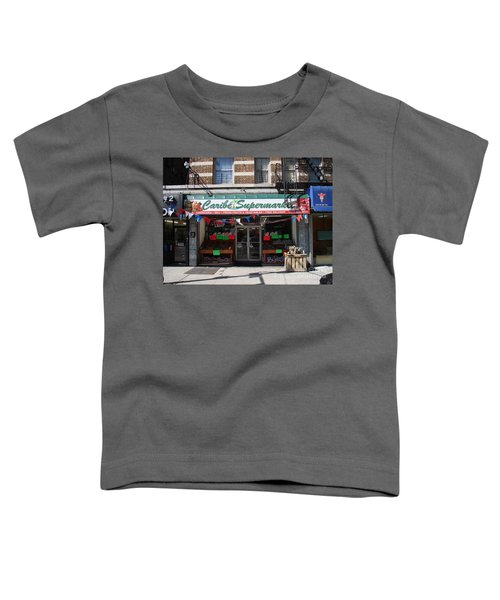 Caribe Supermarket Toddler T-Shirt by Cole Thompson