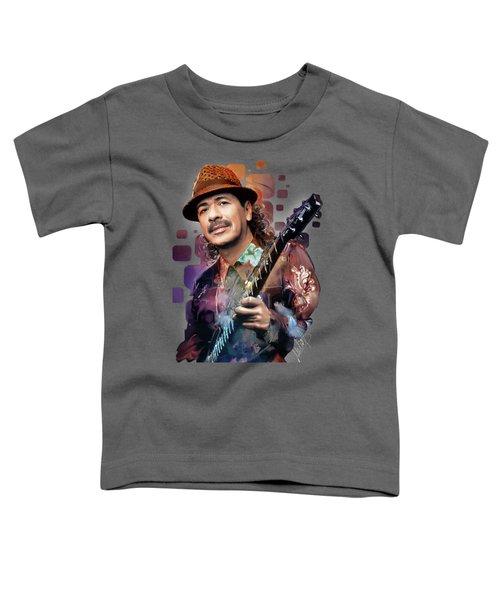 Carlos Santana Toddler T-Shirt