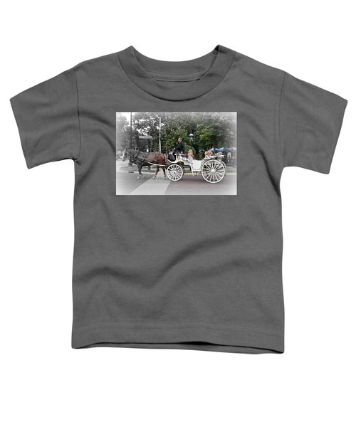 Carriage Ride Into Yesteryear Toddler T-Shirt