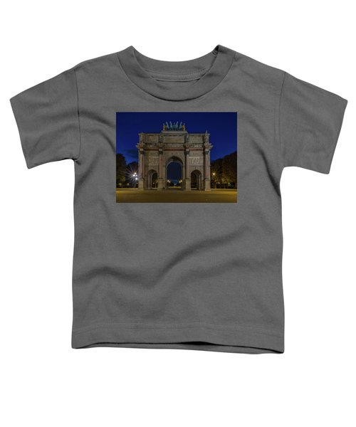 Carrousel Arc De Triomphe Toddler T-Shirt