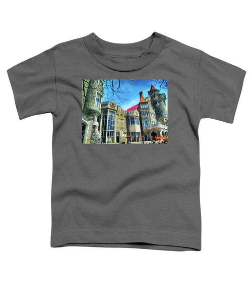 Casa Loma Castle In Toronto 2by1 Toddler T-Shirt