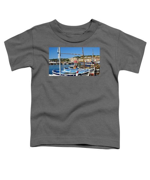Cassis Harbor Toddler T-Shirt