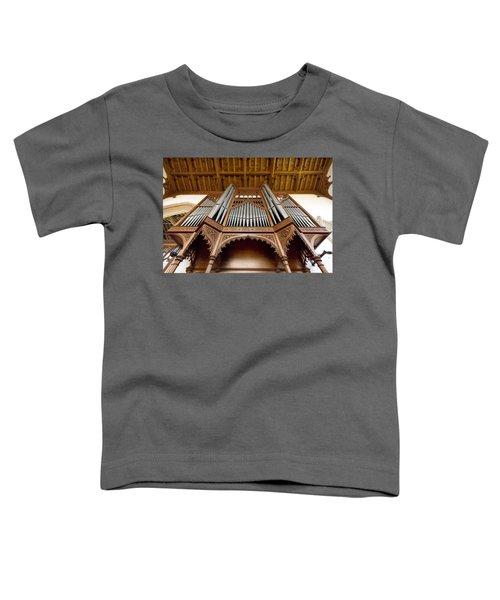 Castle Ashby Pipe Organ Toddler T-Shirt