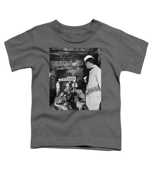 Castle Village Air Raid Shelter Toddler T-Shirt by Cole Thompson