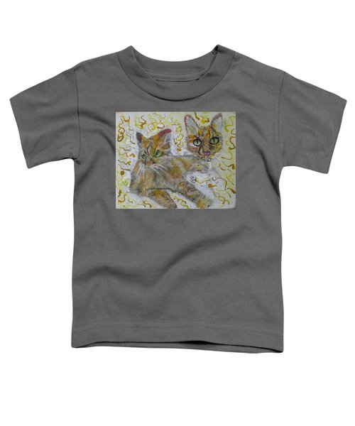 Cat Named Phoenicia Toddler T-Shirt