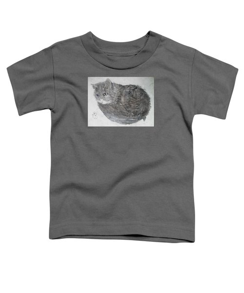 Cat Named Shrimp Toddler T-Shirt
