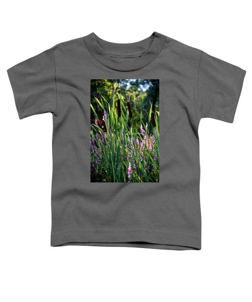 Cat Tails In The Morning Toddler T-Shirt