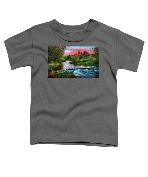 Cathedral At Sunset Toddler T-Shirt