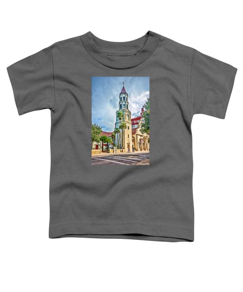 Toddler T-Shirt featuring the photograph Cathedral Basilica by Anthony Baatz