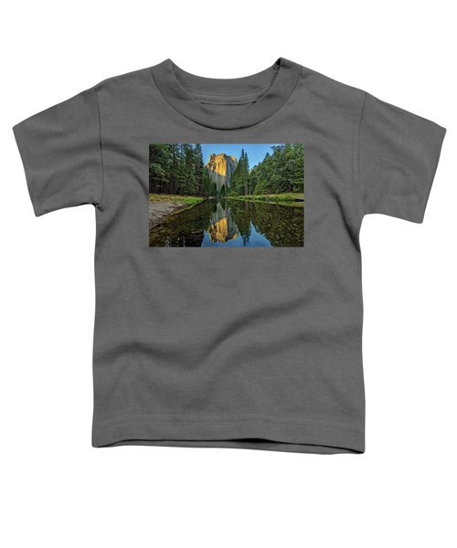 Cathedral Rocks Morning Toddler T-Shirt by Peter Tellone