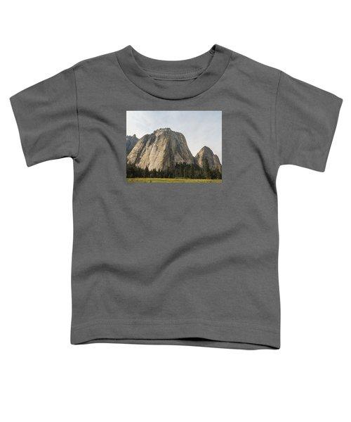 Cathedral Spires Yosemite Valley Yosemite National Park Toddler T-Shirt