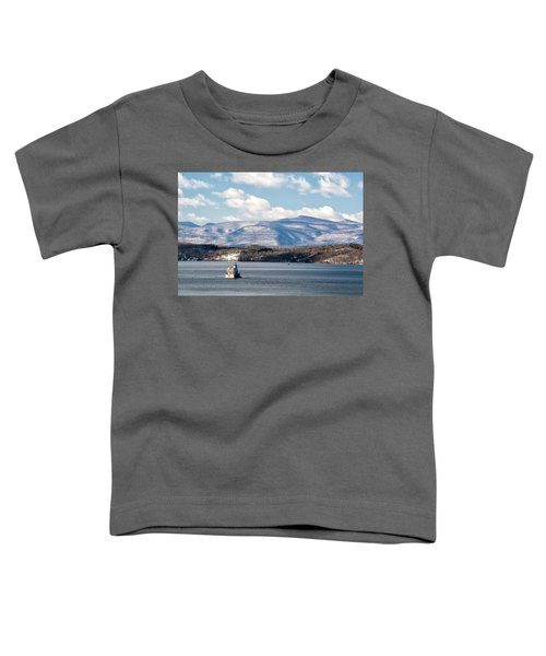 Catskill Mountains With Lighthouse Toddler T-Shirt