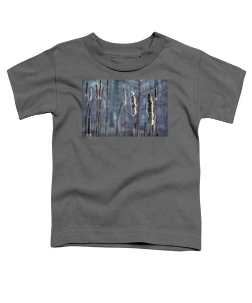 Cattails In The Winter Toddler T-Shirt