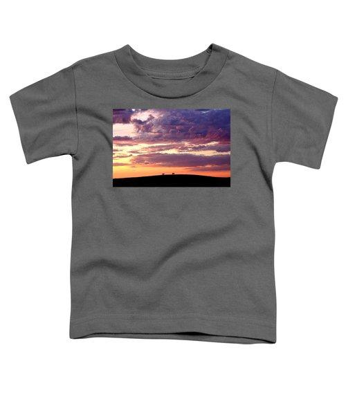 Cattle Ridge Sunset Toddler T-Shirt