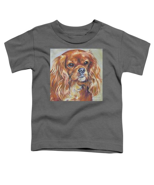 Cavalier King Charles Spaniel Ruby Toddler T-Shirt
