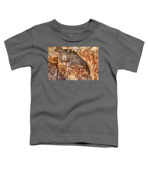 Cave Of The Hands Patagonia Argentina Toddler T-Shirt