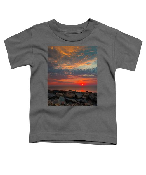 Cedar Point Sunrise Toddler T-Shirt
