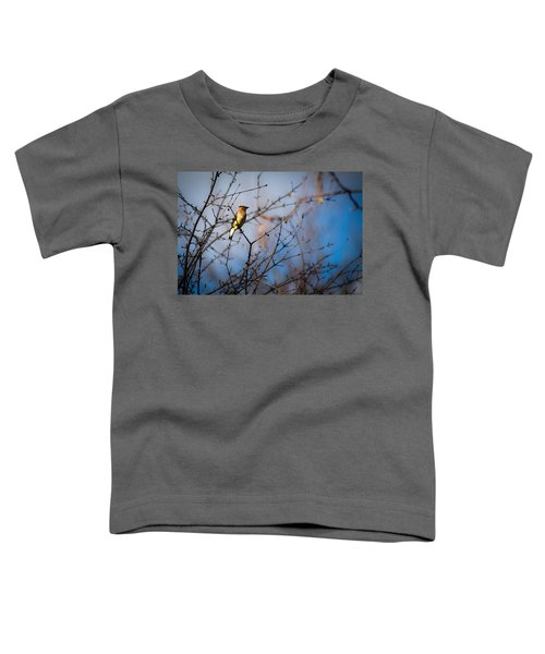 Cedar Waxwing Toddler T-Shirt