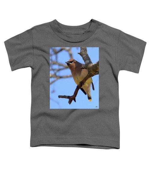 Cedar Waxwing Toddler T-Shirt
