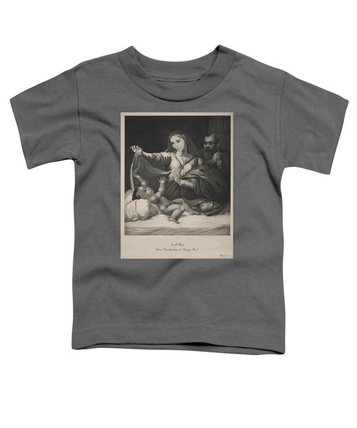 Celebrity Etchings - North Kim And Kanye Toddler T-Shirt