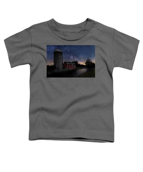 Toddler T-Shirt featuring the photograph Celestial Farm by Bill Wakeley
