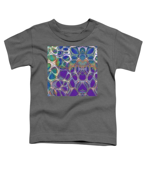 Cell Abstract 17 Toddler T-Shirt by Edward Fielding