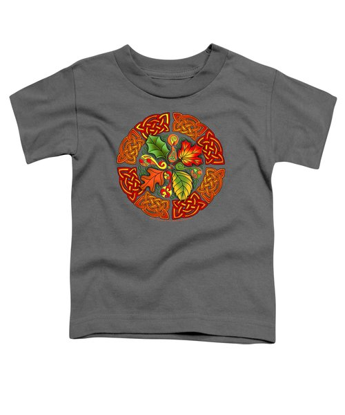 Celtic Autumn Leaves Toddler T-Shirt