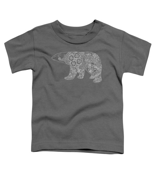 Celtic Polar Bear Toddler T-Shirt