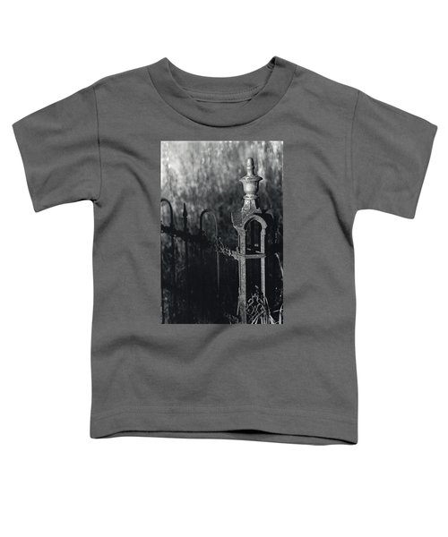 Cemetery  Fence Toddler T-Shirt