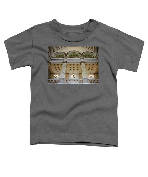 Central Library Milwaukee Interior Toddler T-Shirt
