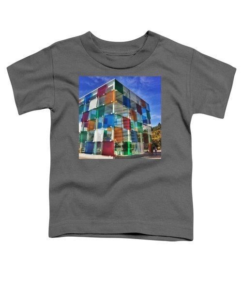 Centre #pompidou #malaga #museo #museum Toddler T-Shirt