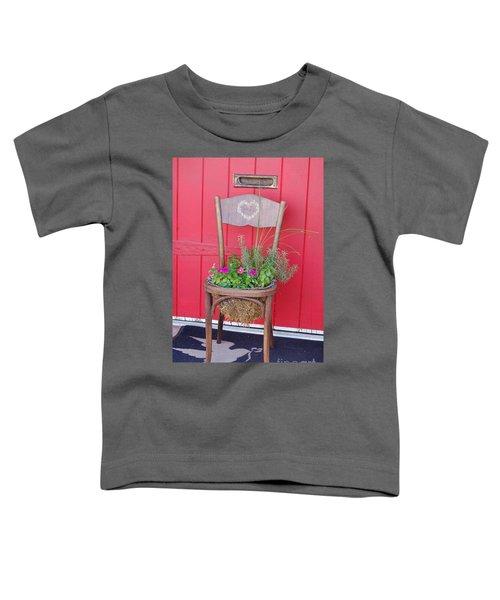 Chair Planter Toddler T-Shirt
