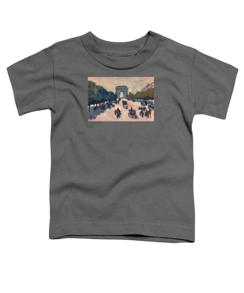 Champs Elysees Paris Toddler T-Shirt