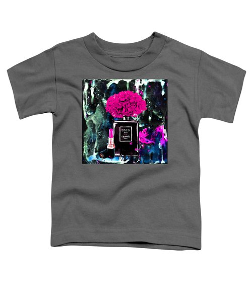 a73f250be Toddler T-Shirt featuring the painting Chanel Poster Chanel Print Chanel  Perfume Print Chanel With