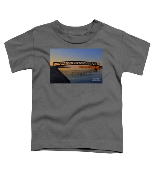 Channel Sunset Toddler T-Shirt