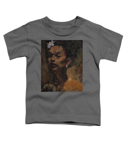 Chanteuse Toddler T-Shirt