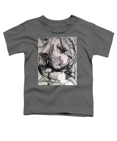 Charcoal Study Toddler T-Shirt