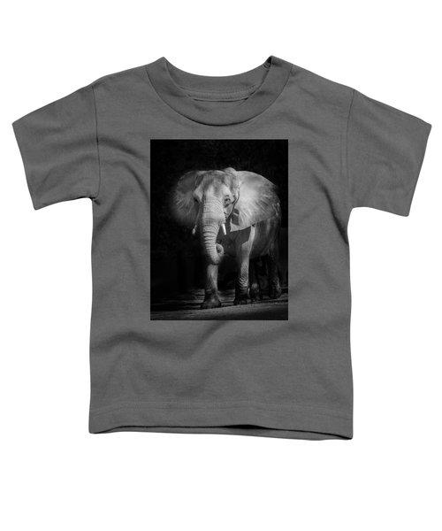 Charging Elephant Toddler T-Shirt
