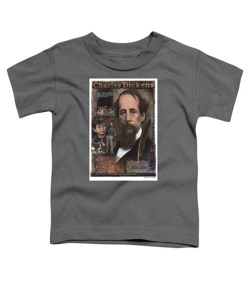 Charles Dickens Toddler T-Shirt