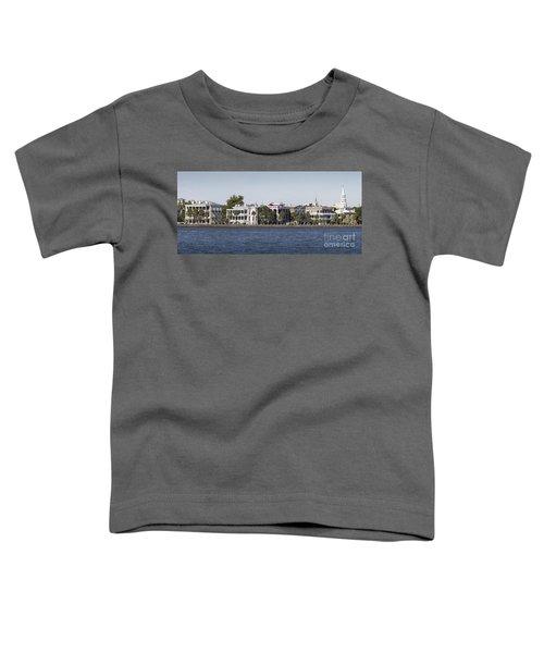 Charleston Battery Row Panorama 2 Toddler T-Shirt